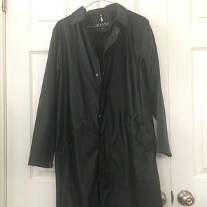 Rain Jacket RAINS brand unisex tench coat